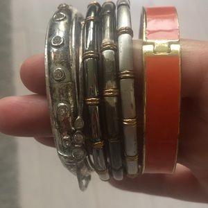 Bundle Of 12 Bracelets (sequin, A&F, various)